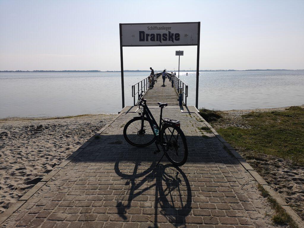 Dranske Bruecke Ostsee