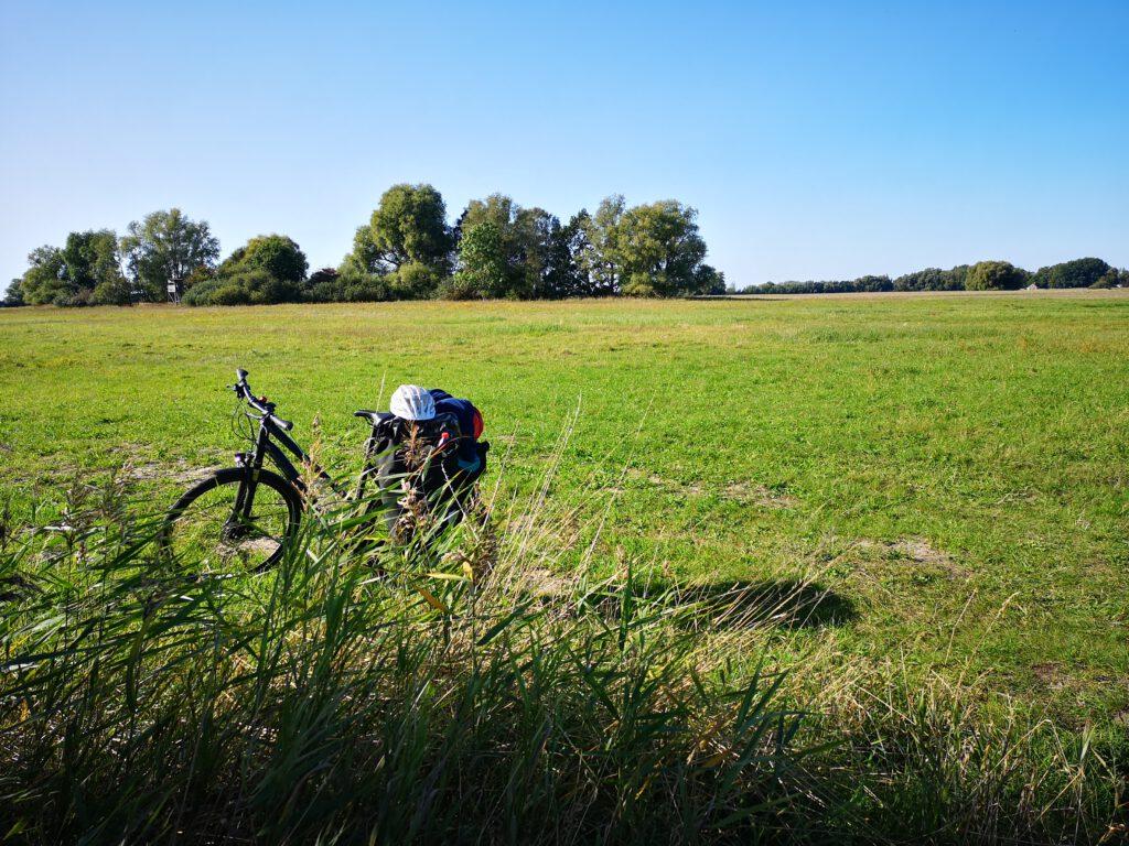 Radtour von Stralsund nach Schaprode Feld