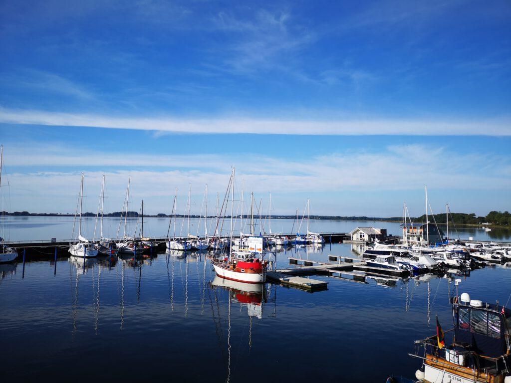 Hafen Wiek Segelboote Ruegen