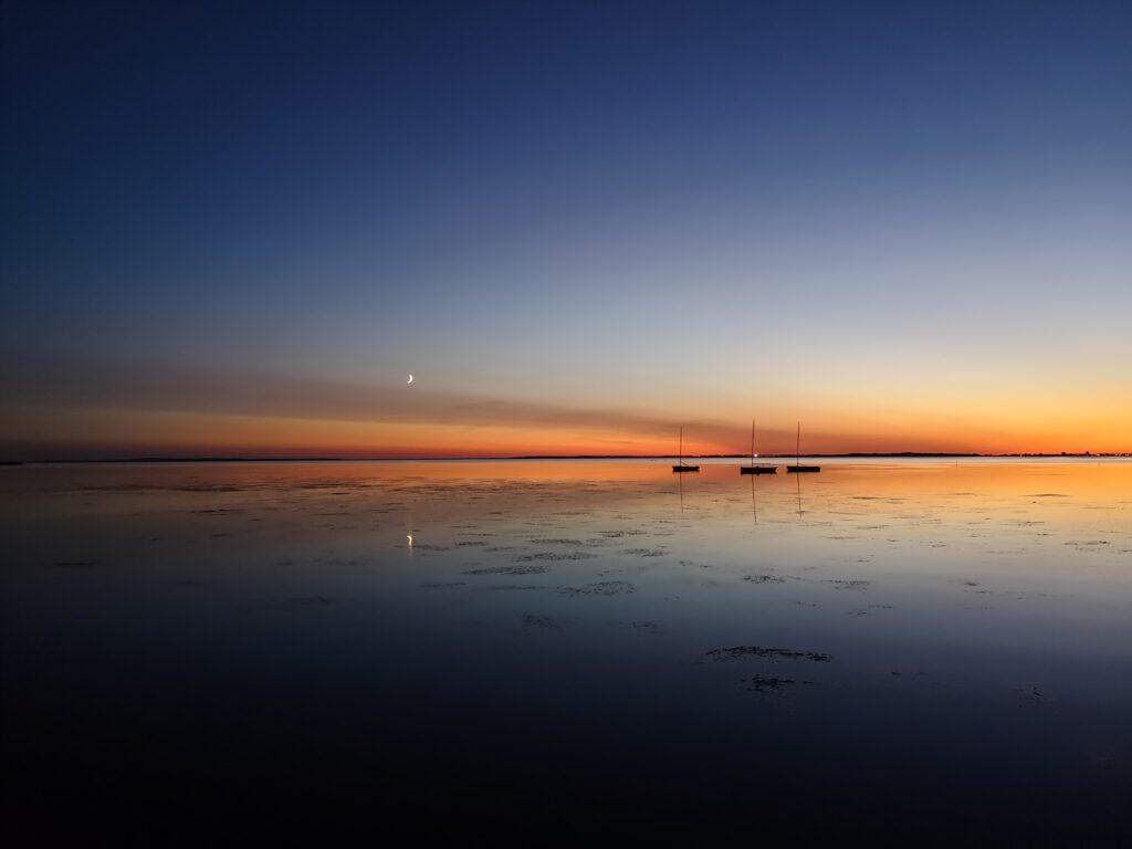 Schaprode Sonnenuntergang Ruegen