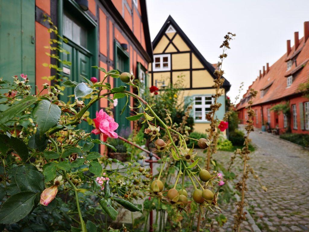 Fachwerkhaus Altstadt Stralsund am Hafen