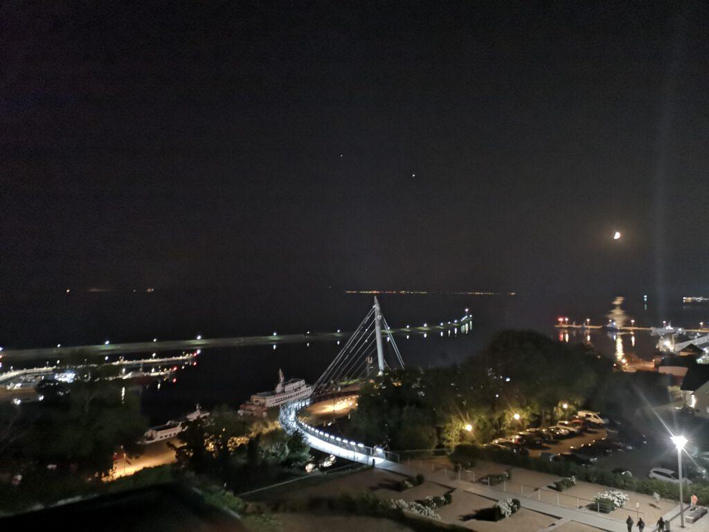 Hafen Sassnitz am Abend