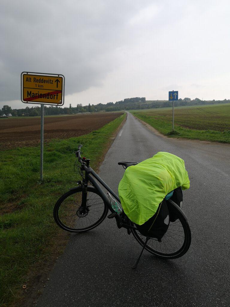 Radweg Alt Reddevitz Ruegen
