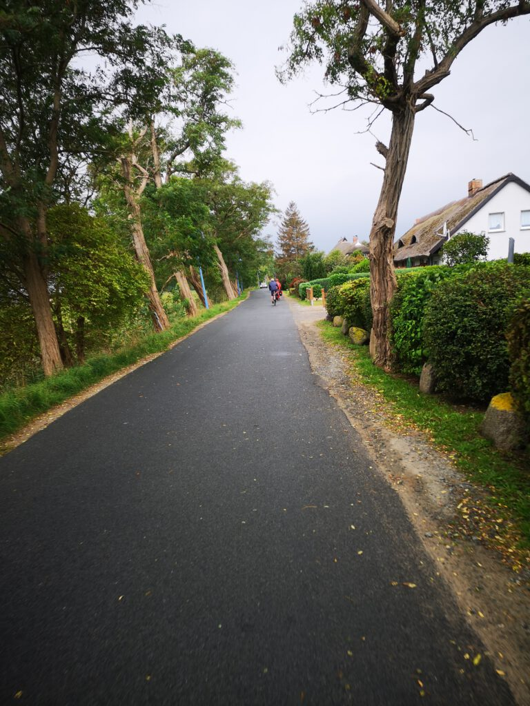 Radweg von Lobbe nach Berge
