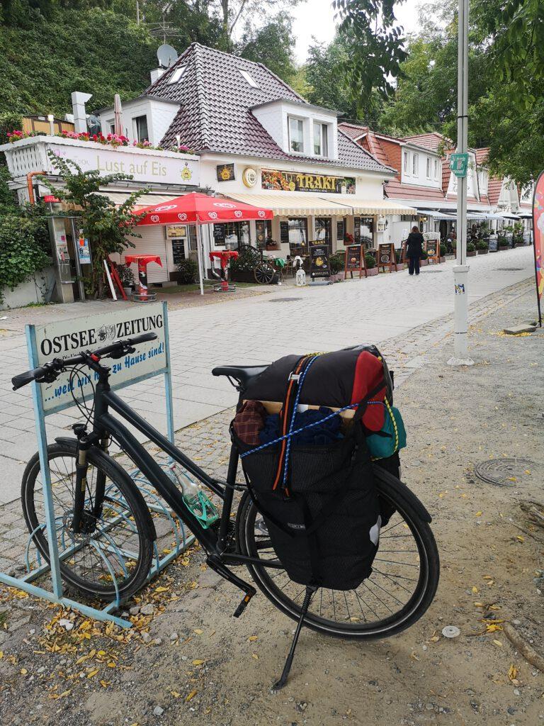 Sassnitz mit Fahrrad