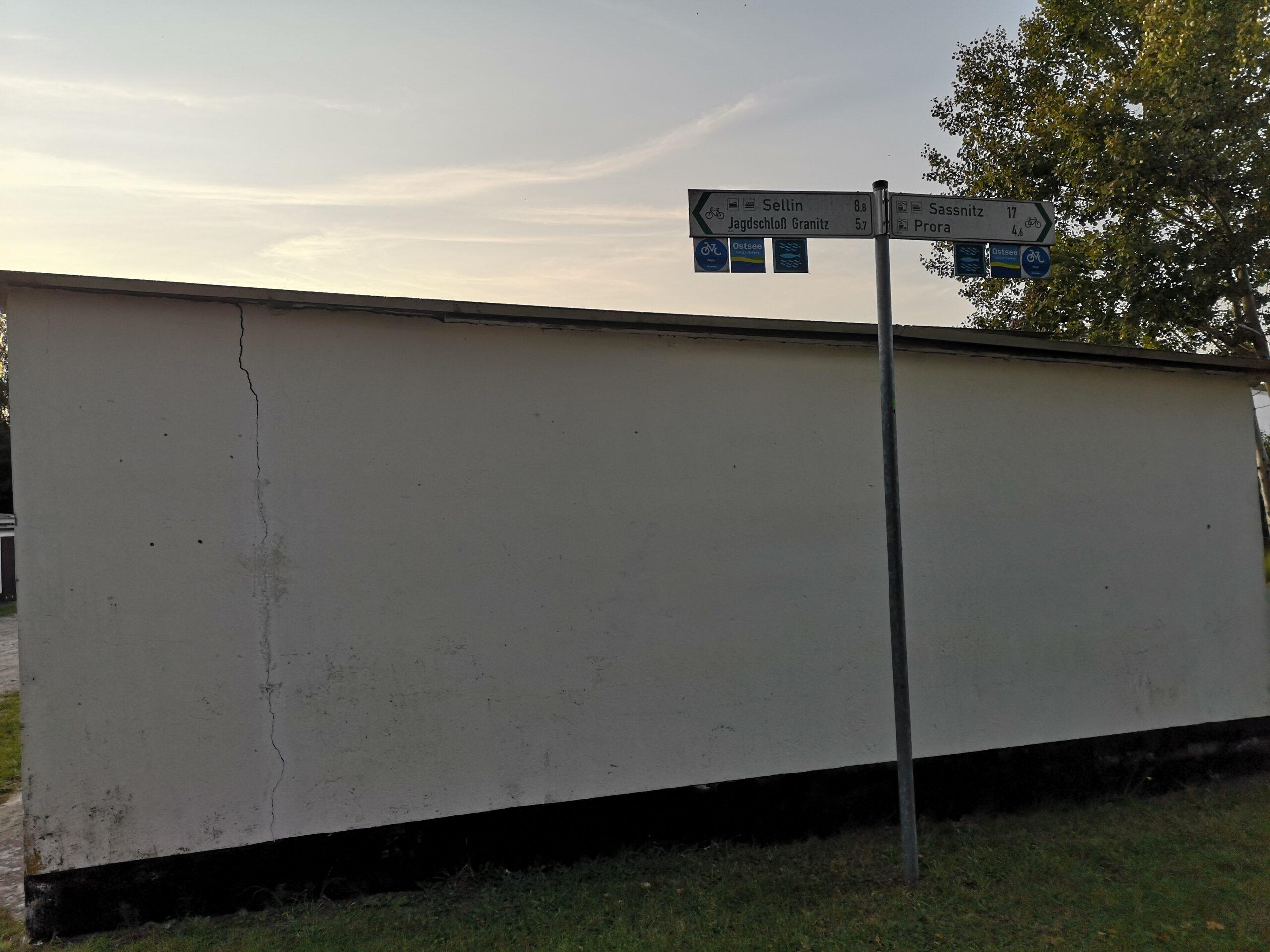 Sassnitz nach Moenchgut Ruegen Rundweg