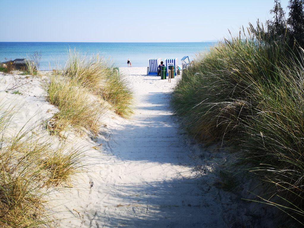 Strand in Juliusruh auf Ruegen