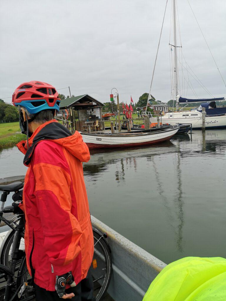 Ruderboot Faehre Ruegen Baaber Bek Moritzdorf