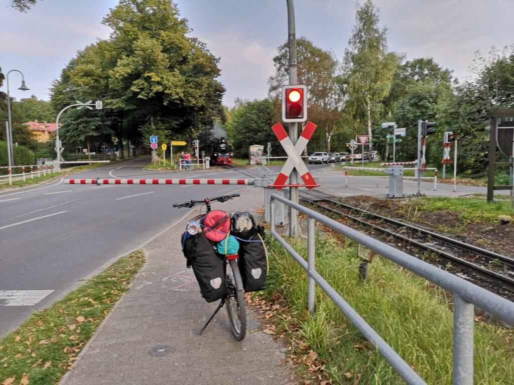 Rasender Roland Radtour ab Sassnitz nach Lobbe Moenchgut