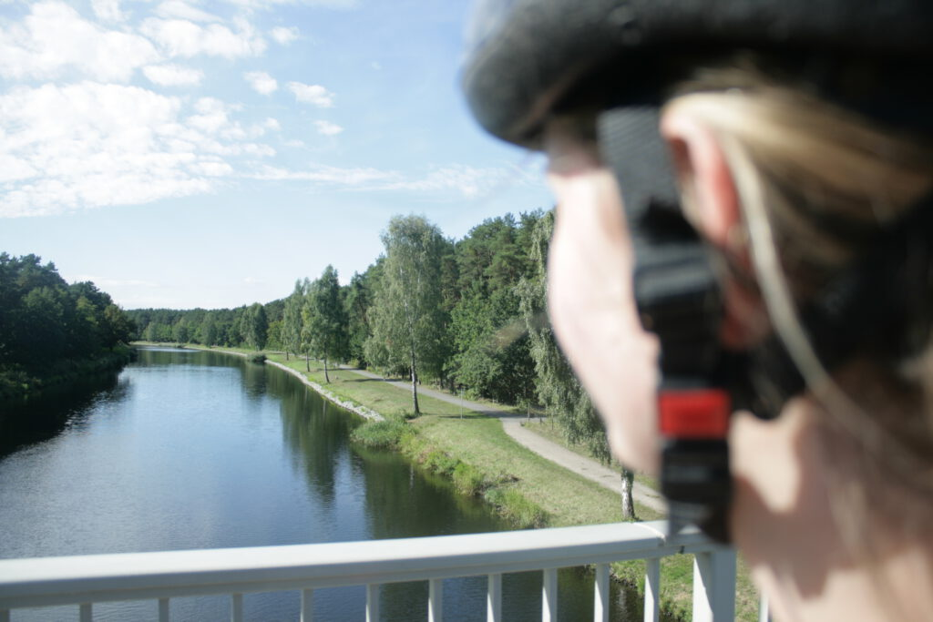 Radtour Berlin Ruegen Kanal Brandenburg